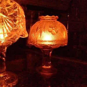 2 Vintage Fairy Lamps